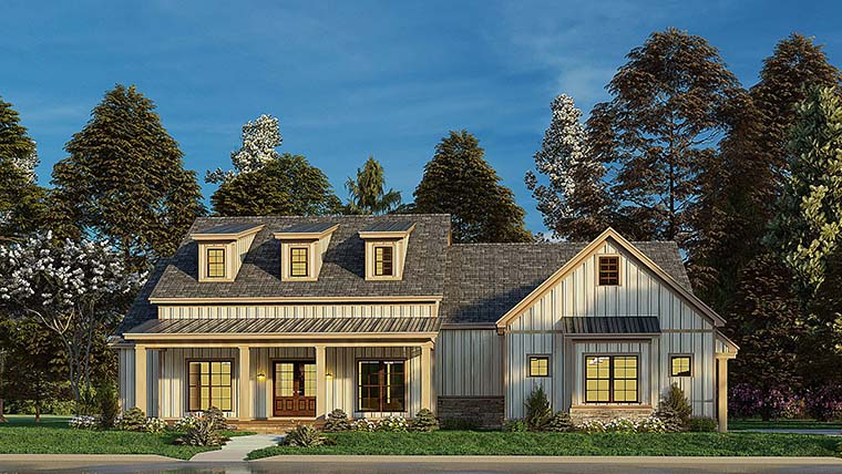 Bungalow, Craftsman, Farmhouse House Plan 82577 with 4 Beds, 3 Baths, 2 Car Garage Picture 5