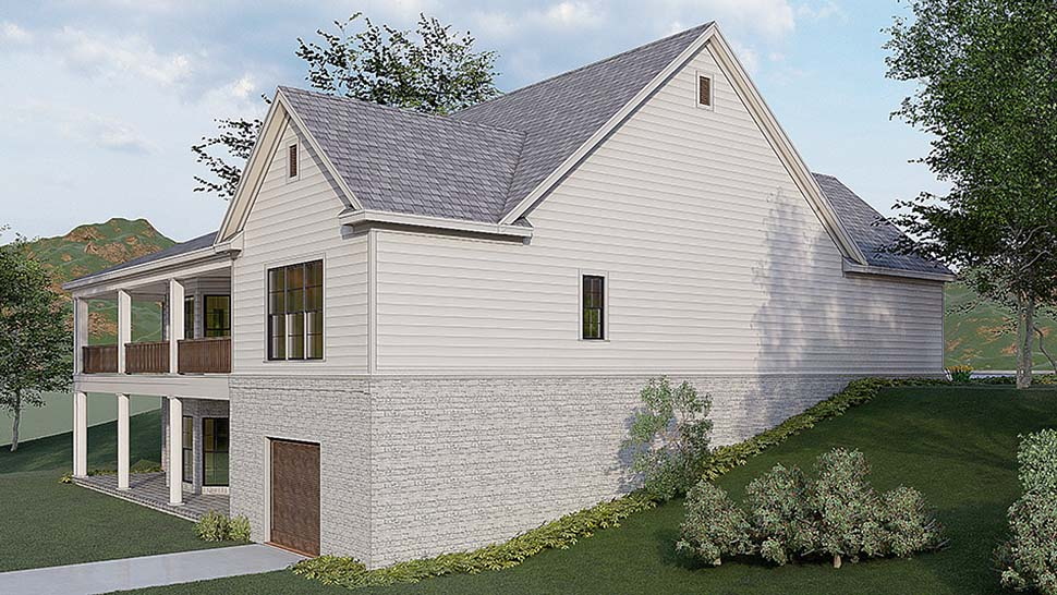 Traditional House Plan 82580 with 3 Beds, 4 Baths, 2 Car Garage Picture 2