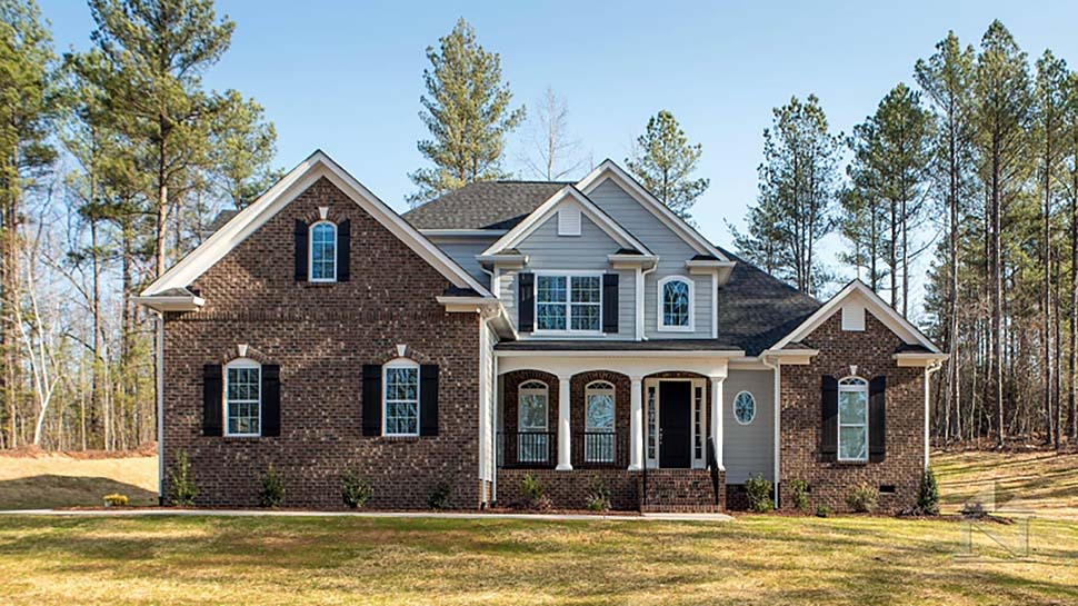European , Traditional House Plan 83014 with 4 Beds, 3 Baths, 2 Car Garage Elevation