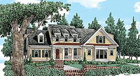 Country European Farmhouse Victorian House Plan 83024 Elevation