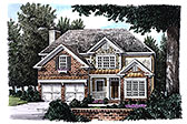 Plan Number 83027 - 1952 Square Feet