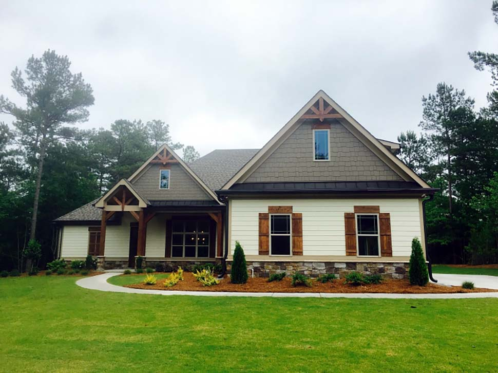 Craftsman, European, Traditional House Plan 83028 with 3 Beds, 3 Baths, 2 Car Garage Picture 1
