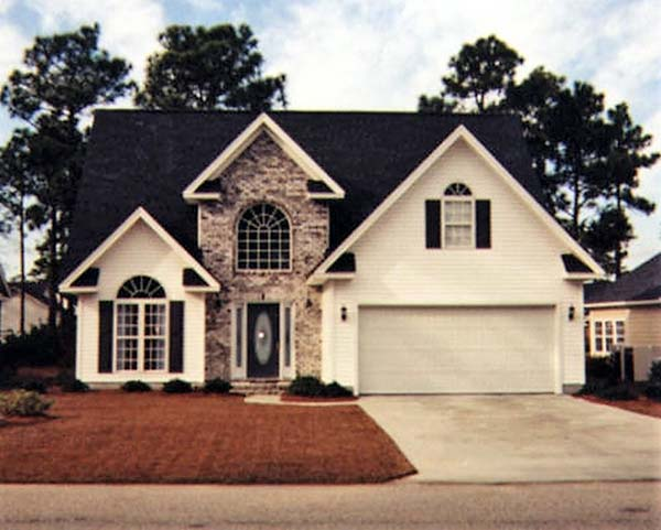 Traditional House Plan 83050 with 3 Beds, 3 Baths, 2 Car Garage Picture 1