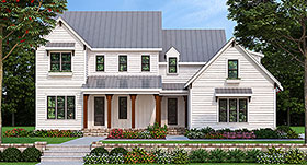 Farmhouse Southern Traditional House Plan 83052 Elevation