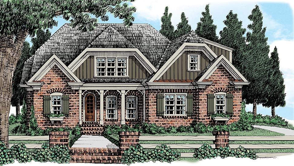 House Plan 83056