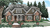Plan Number 83056 - 1982 Square Feet