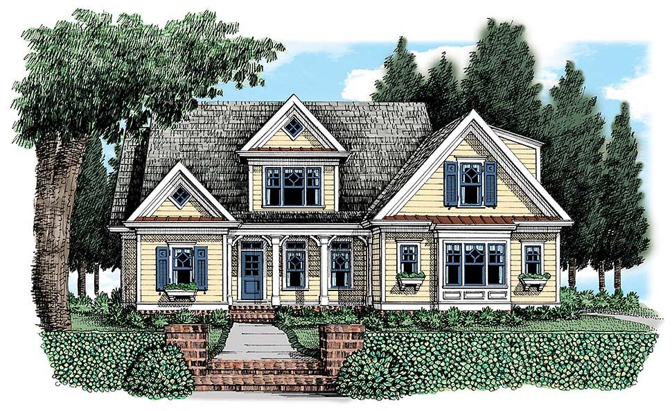 House Plan 83057