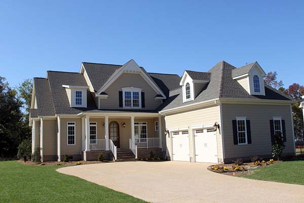 Traditional, House Plan 83059 with 4 Beds, 3 Baths, 2 Car Garage