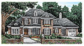 Plan Number 83061 - 3482 Square Feet