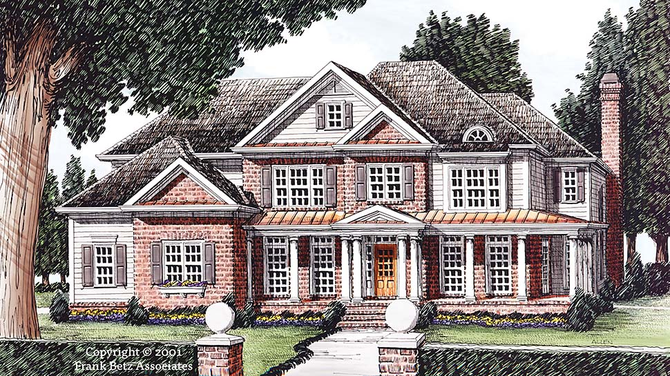 European French Country House Plan 83062 Elevation