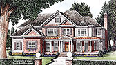 Plan Number 83062 - 3843 Square Feet