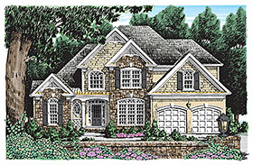 Traditional House Plan 83070 Elevation