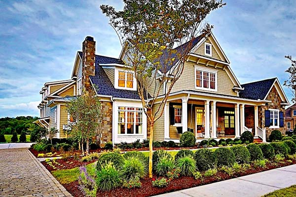 Craftsman House Plan 83074 with 4 Beds, 6 Baths, 3 Car Garage Picture 1