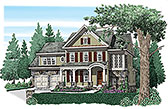 Plan Number 83076 - 3193 Square Feet