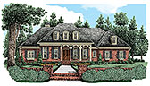 Plan Number 83077 - 3590 Square Feet