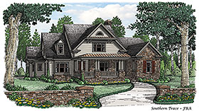 Bungalow Cottage Country House Plan 83086 Elevation