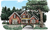 Plan Number 83090 - 3327 Square Feet