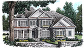 Plan Number 83091 - 3162 Square Feet