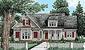 Plan Number 83095 - 1760 Square Feet