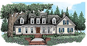 Country House Plan 83099 Elevation