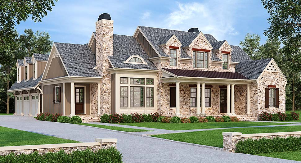 Country Southern House Plan 83101 Elevation