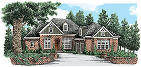 European , Traditional House Plan 83105 with 4 Beds, 4 Baths, 2 Car Garage Elevation