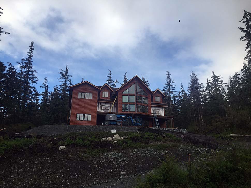 Cabin , Log House Plan 85110 with 4 Beds, 5 Baths, 3 Car Garage Elevation