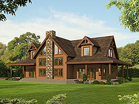 Cape Cod , Country House Plan 85135 with 3 Beds, 3 Baths Elevation