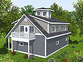 Plan Number 85139 - 1387 Square Feet