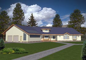 Ranch Traditional House Plan 85201 Elevation