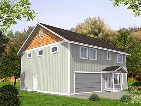 Traditional House Plan 85223 with 3 Beds, 3 Baths, 2 Car Garage Elevation