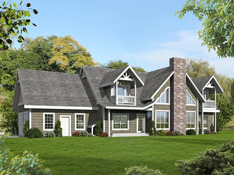 Contemporary , Traditional House Plan 85228 with 6 Beds, 4 Baths, 2 Car Garage Elevation