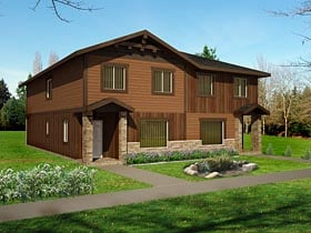 Multi-Family Plan 85234