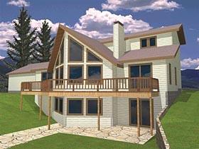 Coastal Colonial Contemporary House Plan 85269 Elevation