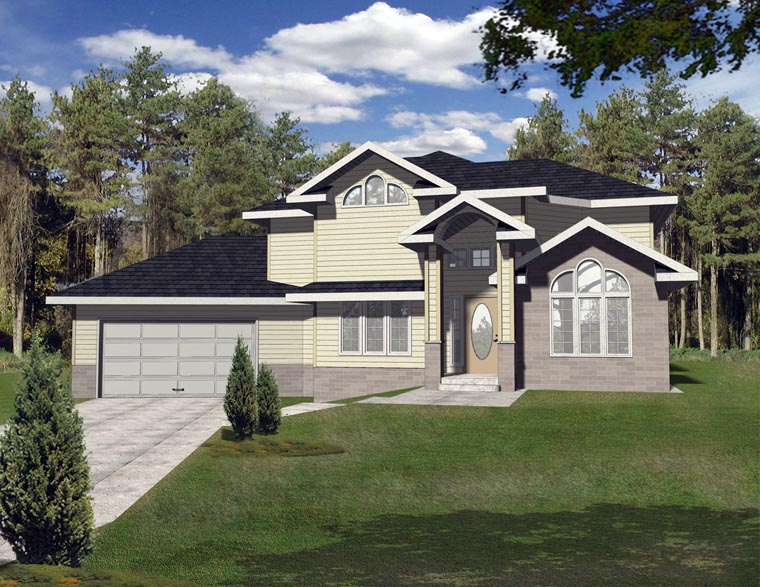 Contemporary European House Plan 85272 Elevation