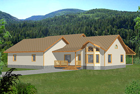 Contemporary European House Plan 85275 Elevation