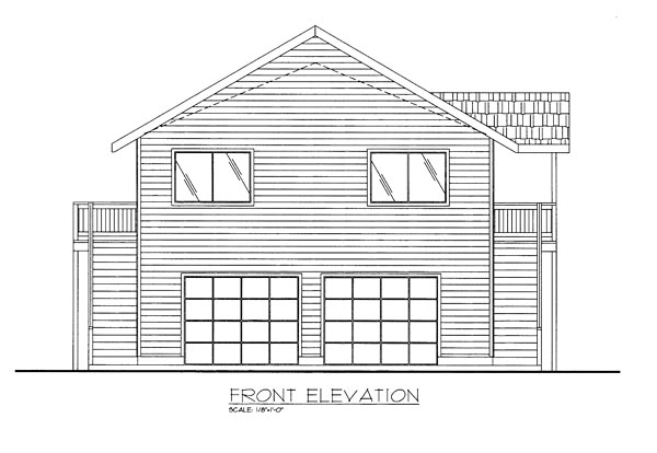Colonial Contemporary Traditional House Plan 85276 Rear Elevation