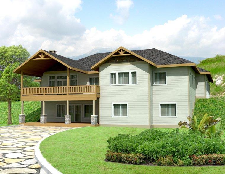 Craftsman House Plan 85300 Elevation