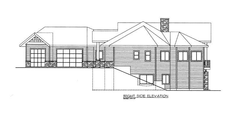 House Plan 85303 with 4 Beds, 5 Baths, 3 Car Garage Picture 2