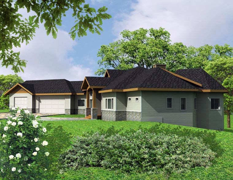 House Plan 85303 with 4 Beds, 5 Baths, 3 Car Garage Picture 3