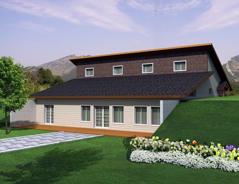 House Plan 85305 Elevation