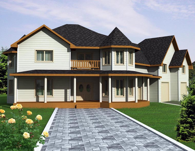 House Plan 85306 Elevation