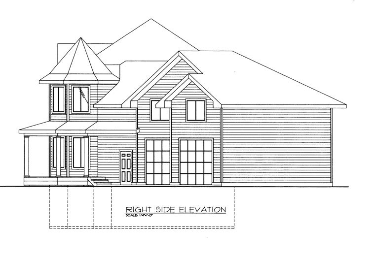 House Plan 85306 with 3 Beds, 3 Baths, 3 Car Garage Picture 2