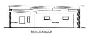 House Plan 85307 Elevation