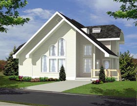 Coastal House Plan 85308 Elevation