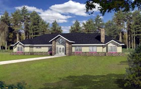 Coastal House Plan 85309 Elevation