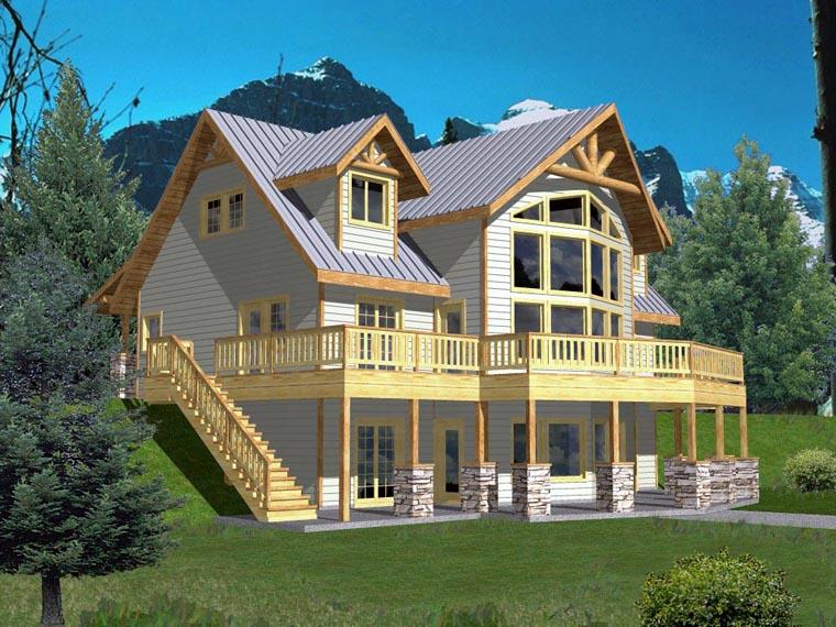 Coastal House Plan 85316 Elevation