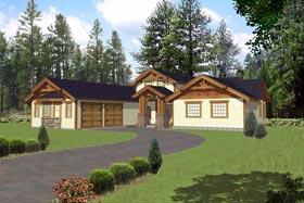 Craftsman House Plan 85317 Elevation