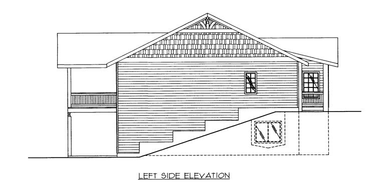 House Plan 85319 with 4 Beds, 4 Baths, 2 Car Garage Picture 1