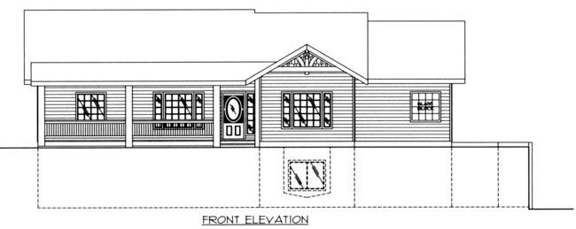 House Plan 85319 with 4 Beds, 4 Baths, 2 Car Garage Picture 2